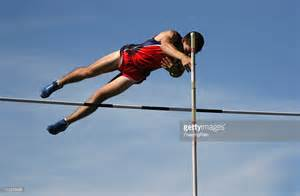Pole vault stock photo getty images