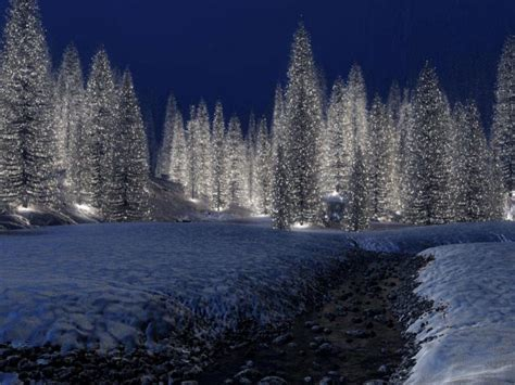 christmas scenery free download hd snowy christmas scene