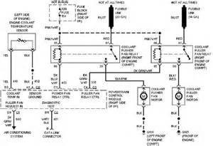 pontiac trans sport 3 8l cooling fan circuit circuit wiring diagrams