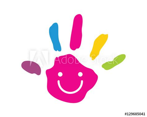 kid education logo stock photos image 32631433 modern children education logo creative palm koop deze
