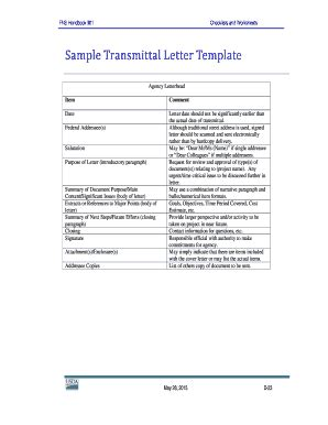 transmittal letter template word forms fillable