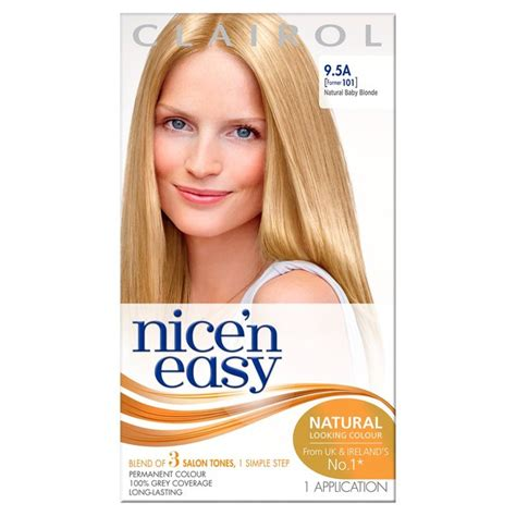 how to use nice n easy hair color morrisons nice n easy permanent colour 101 natural baby