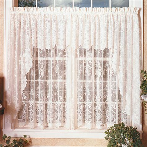 damask valance curtains traditions by waverly dressed up damask ascot valance
