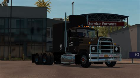 mack volvo trucks mack rs700 convoy mod ats mod american truck