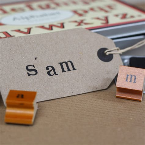 individual letter rubber sts alphabet sts and ink pad lower the wedding of my