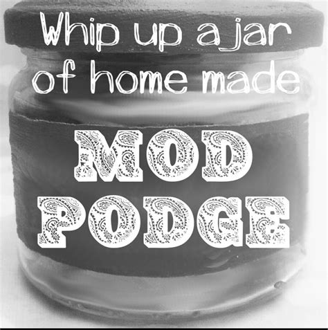 Decoupage Glue Pva - best 25 home made modge podge ideas on diy