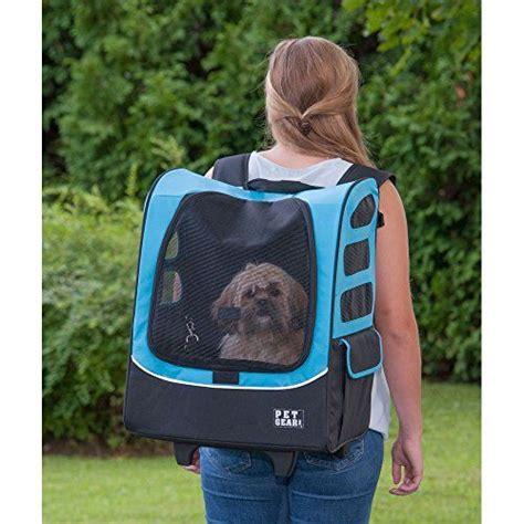 pet gear    traveler rolling backpack carrier