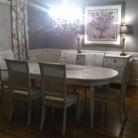 craigslist dining room set makeover for the home
