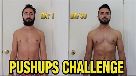 challenge result 200 pushup 30 day challenge 2017 results