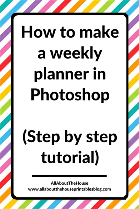 yii tutorial step by step pdf how to make a weekly planner in photoshop step by step