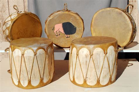Handmade Drum - eagle drums custom handmade drums