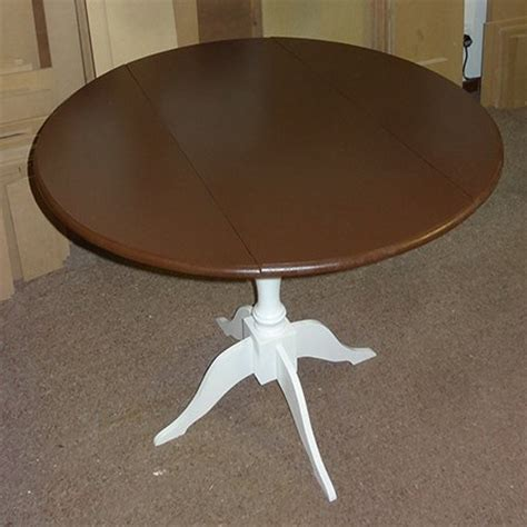 Diy Drop Leaf Table Hometalk Easy Way To Make A Drop Leaf Table