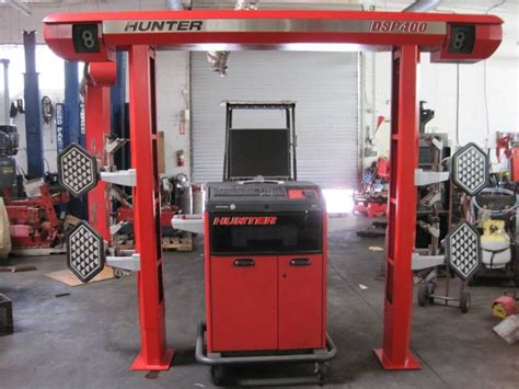 Used Alignment Rack by Used R611 Aligner 400 Dsp Sensors