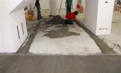come livellare un pavimento come livellare un massetto in cemento confortevole