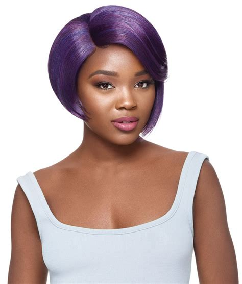 Oudre Lace Top outre swiss lace l parting lace front wig pepper