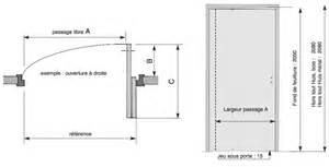 dimension porte standard exterieur dootdadoo id 233 es
