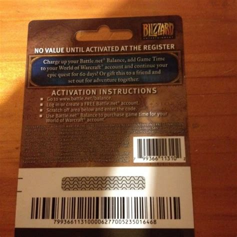 World Of Warcraft Gift Cards - world of warcraft gift card for sale in naas kildare from angel365