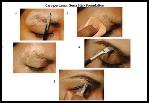 tutorial makeup kening tutorial make up kening tanpa cukur shave kisah ku