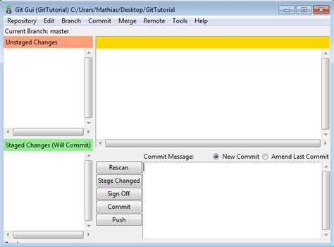 tutorial git gui easy mini git gui tutorial mathias morelle