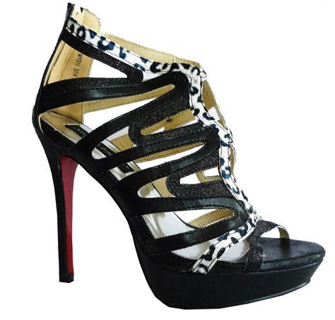 black high heel shoes with soles black white high heel sole shoes bnib 4 5 6 7 ebay
