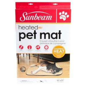 Sunbeam Heated Outdoor Cat Mat by 25 Best Ideas About Heated Pet Beds On Heated