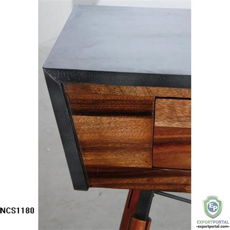metal console table with drawers questions on solid suar wood and metal console table with