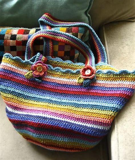 crochet pattern for knitting bag 15 free crochet knitting bag patterns tip junkie