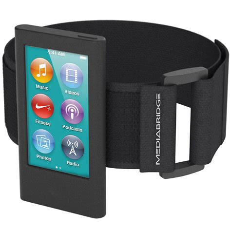 Tunewear Softshell For Ipod Nano 7th And 8th Generation Free Tunefil shop new sport armband for ipod nano 7th 8th generation black mediabridge products