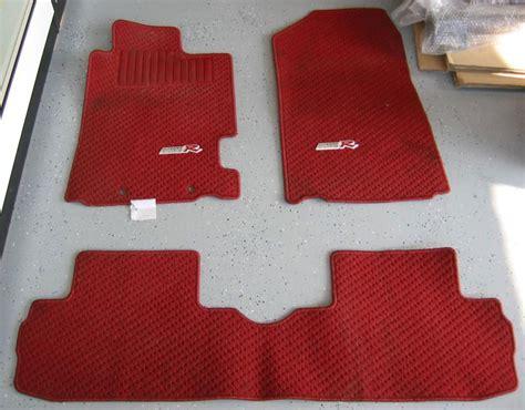 Integra Type R Floor Mats by Used Jdm Integra Dc5 Type R Floor Mats