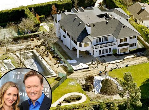 Conan Obrien Is Shut Out Of A House Tour conan o brien from mega mansions e news