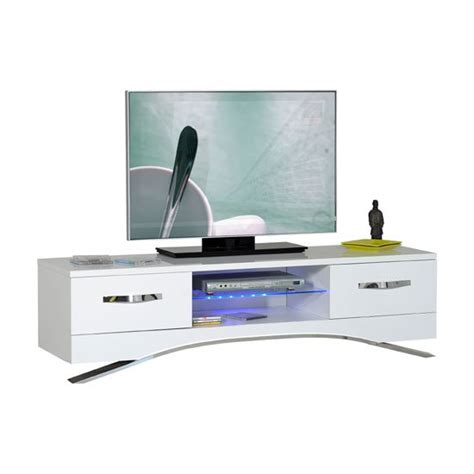 white tv stand with led lights smooth high gloss white lcd tv stand with led light 22487