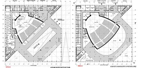 concert hall floor plan architecture photography cankaya art center and concert