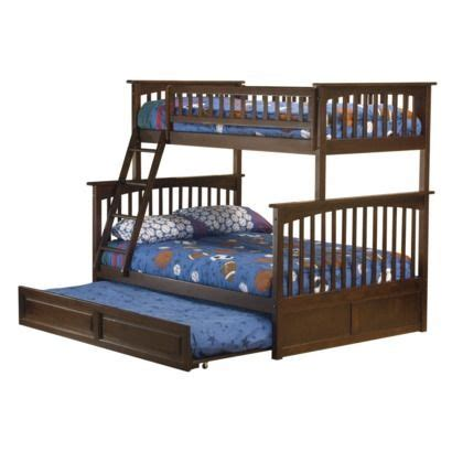 opens into bunk bed columbia bunk bed with trundle bed