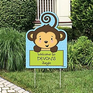 Baby Shower Ideas With Monkey Theme by Monkey Boy Baby Shower Decorations Theme