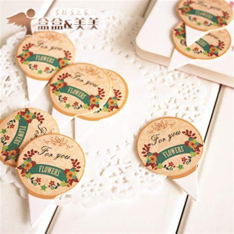 Cake Toppers Set Kue Cupcake Hiasan Karton Plastik Tata Kue Baking Set Jual Topper Cupcake Packing Karton Plastik Cake Bolu Tusukan Tulisan Kertas Jual Grosir