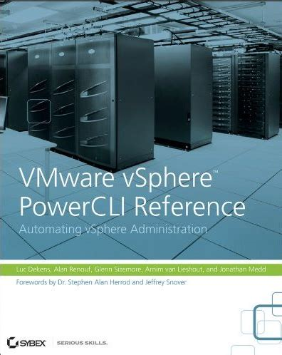 mastering vmware vsphere 6 5 leverage the power of vsphere for effective virtualization administration management and monitoring of data centers books new book vmware vsphere powercli reference automating