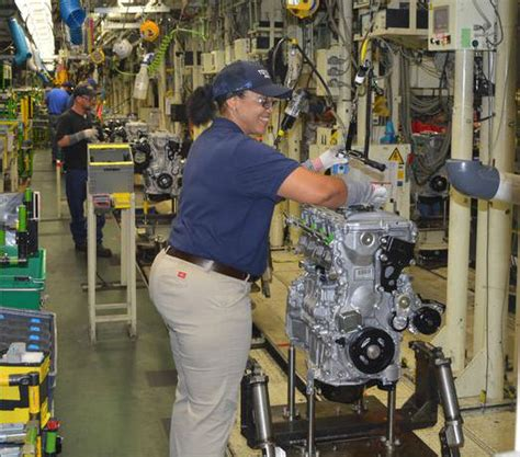 Toyota Plant In Toyota Assembly Plant In Alabama Reaches Production Milestone