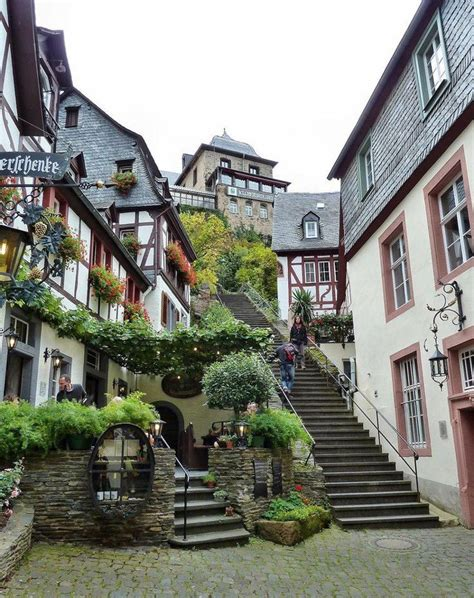 charming small town of beilstein in rhineland palatinate