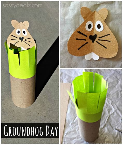 groundhog day crafts groundhog day crafts for crafty morning