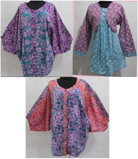 Undangan Batik Cantik tips dan model baju batik wanita gemuk untuk kerja dan