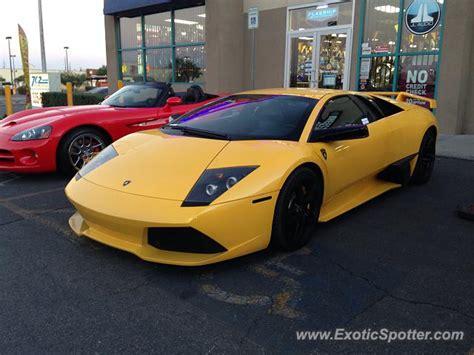 Las Vegas Lamborghini Lamborghini Murcielago Spotted In Las Vegas Nevada On 11
