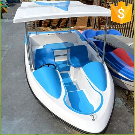 pedal boat em portugues hot sale electric fiberglass water pedalo boat buy water
