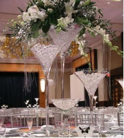 Vase Decoration Table by Martini Vase Wedding Decoration Glass Table Vases