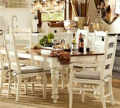 keaton extending dining table in white from pottery