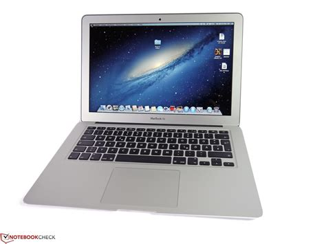 Laptop Dan Notebook Apple test apple macbook air 13 inch 2015 03 notebook notebookcheck tests
