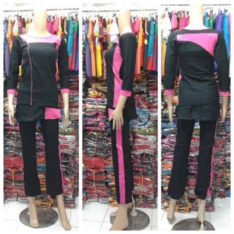 Baju Cantik Muslimah baju senam muslimah celana rok baju senam murah grosir