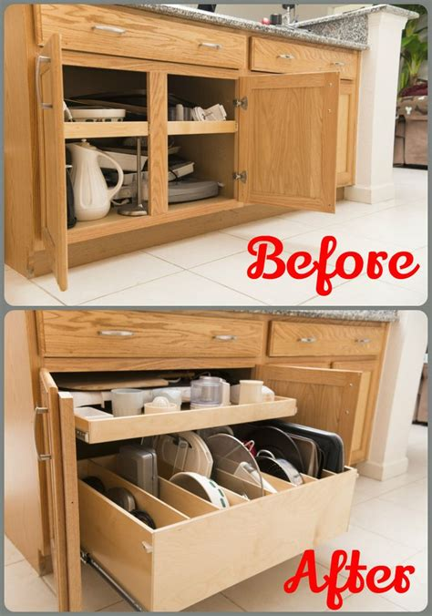 pull out kitchen storage ideas increase access to your kitchencabinets by removing the