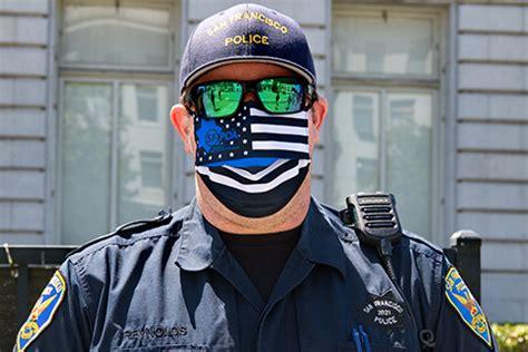 san francisco police flaunt blue lives matter masks indybay