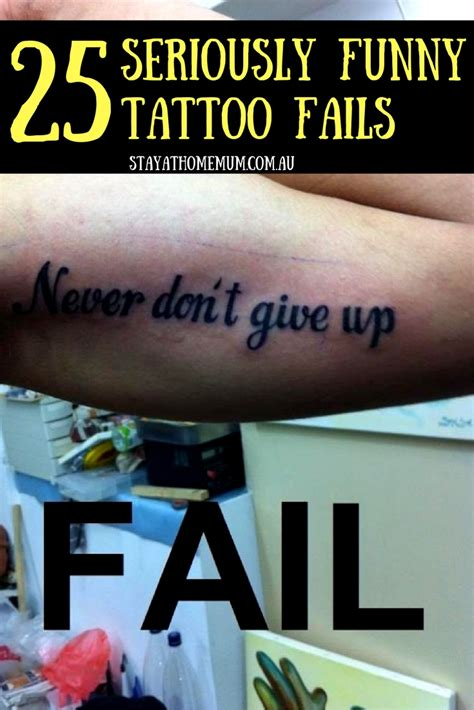 funny tattoo fails 25 seriously fails stay at home