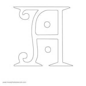 free printable stencils for alphabet letters numbers